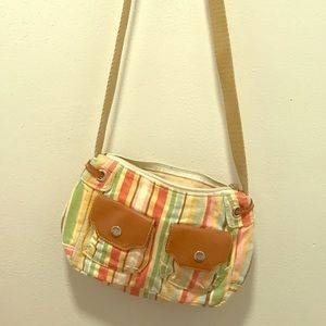 Colorful Fossil cross body purse